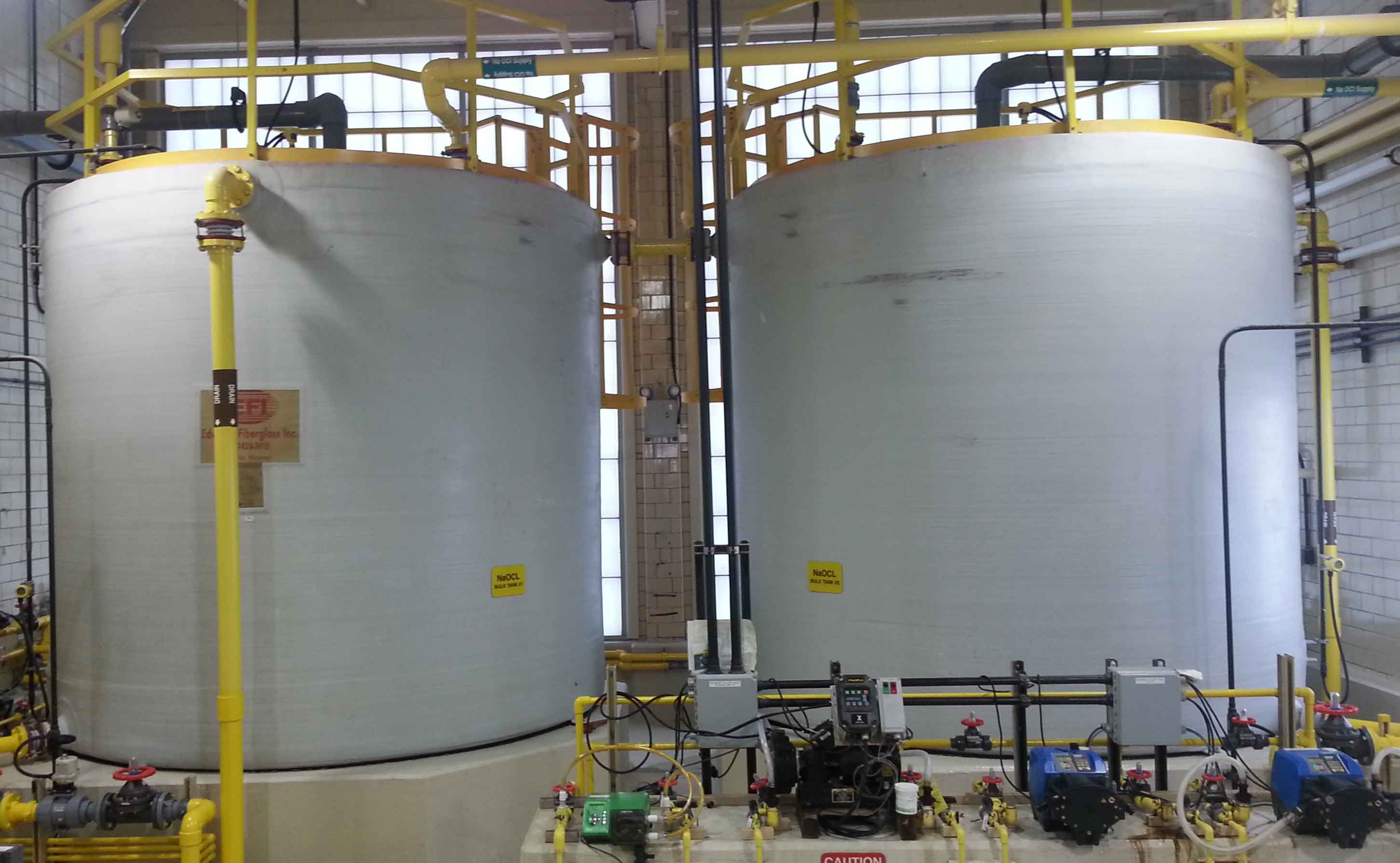 Wastewater Treatment Plant Chemical Disinfection